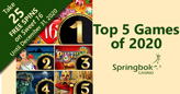 South African Casino Names Top 5 Games of 2020
