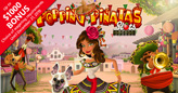 "Rival Mariachis Vie for a Kiss in Slots Capital's Festive New ""Popping Pinatas"" Slot"