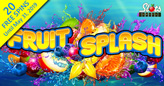 Get Your First 20 Spins on New Fruit Splash Slot from Rival Gaming for Free