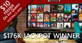 Slotland Player Wins $176,980 Jackpot, Buys Big TV for Netflix Binging