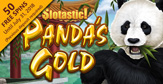 Get 50 Free Spins on RTG's New Panda's Gold at Slotastic