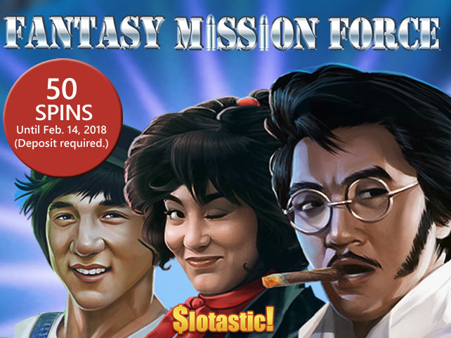 Fantasy Mission Force hits Slotastic!