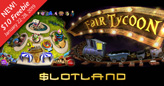 New 'Fair Tycoon' Slot Game at Slotland has Sim-style Bonus Game