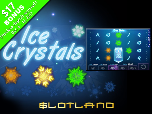 Ice Crystals debuts at Slotland