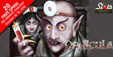 Get 20 Free Spins on New Dr. Akula Halloween Slot -- No Deposit Required