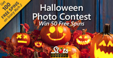 Post Pumpkin Pics, Get 50 Free Spins on Scary Rich 2 Slot Game