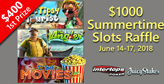 Kick Back with $1000 Summertime Slots Raffle