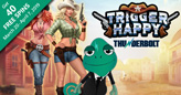 Thunderbolt Casino giving 40 free spins on new Trigger Happy slot