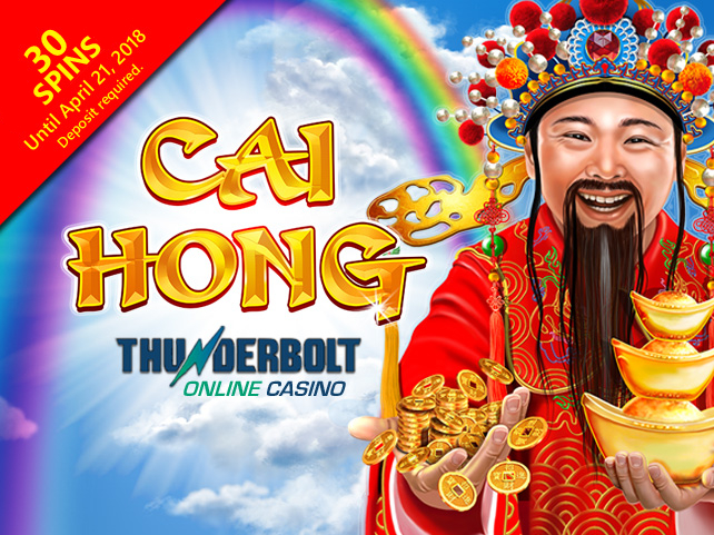 Cai Hong arriving at Thunderbolt Online Casino