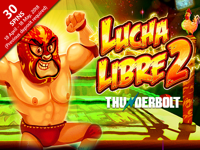 Lucha Libre 2 rolling into Thunderbolt Online Casino