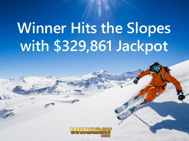 Record-breaking Jackpot Winner will Hit the Slopes after $329,861 Win