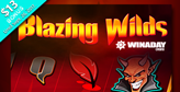 WinADay Casino launches Blazing Wilds