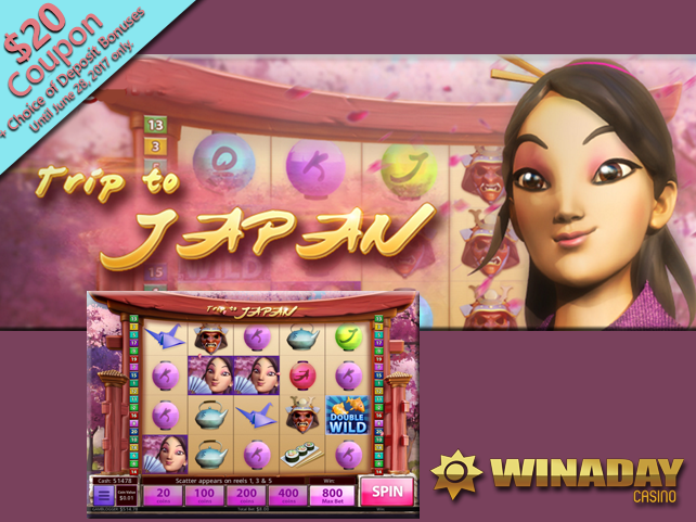 Take a Trip To Japan with WinADay Casino